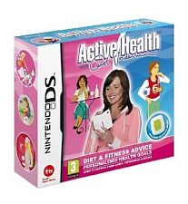 Active Health with Carol Vorderman (Nintendo DS, 2009) - Game Cartridge Only