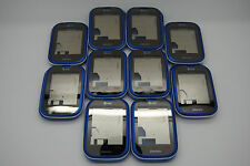 LOT of 10 OEM Pantech pursuit Blue P9020 4pc housing including digitizer Used