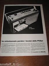 AA4=1968=PHILIPS RADIOREGISTRATORE PORTATILE=PUBBLICITA'=ADVERTISING=WERBUNG=