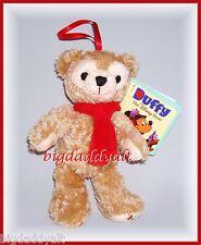 New Disney Parks Hidden Mickey Duffy Bear Plush Christmas Holiday Ornament
