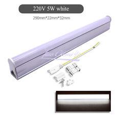 T5 LED Luz de Tubo Fluorescente lechoso cubierta de ahorro de energía integrado 5W 220V 29CM