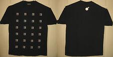 HUNDREDS Shirt L Mini Adam Bomb Squares Design Street Wear 100s HTF RARE OOP