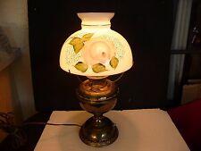 ORIGINAL ANTIQUE BRADLEY & HUBBARD B&H 1885 BRASS EMBOSSED ELECTRIC LAMP