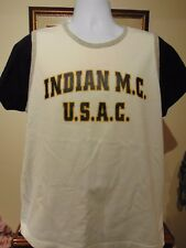 Indian M. Cycle Authentic Men's Vintage? t-shirt Extra large