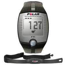 Polar FT1 Computer Heart Rate Monitor Exercise Watch Black 90051026 Brand New