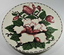 HOLLAND MOLD GAYBO FLORAL ORCHID CHARGER * *