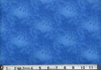 "108"" Extra Wide Quilt Backing BTY Yards 100% Cotton Tonal Vineyard Blue"