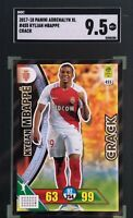 Kylian Mbappe 2017-18 Panini Adrenalyn XL Ligue 1 Crack SGC 9.5 Mint+