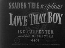 Reel 7x 16mm FILM 1950s TELESCRIPTIONS SOUNDIES   Old Fashioned Music Videos
