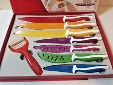 ROYALTY LINE 7pc Knife Set + Bonus Peeler Non-Stick Coating