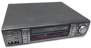 VTG Aiwa HV-MX100U VCR Worldwide Video VHS Multi-System PAL SECAM NTSC - AS-IS