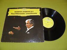 Beethoven - Symphonie No. 7 / Leonard Bernstein / RARE Germany DGG STEREO LP EX