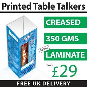 Table Talkers Calendar, Display Menu, Food Drink, Office Desk, A4, A3, A5