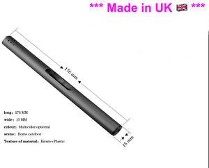 Kitchen Craft Slim Butane Gas Hob Candle Stove BBQ Lighter Black  Refillable New