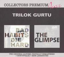 Trilok Gurtu - Bad Habits Die Hard & The Glimpse  *2CD *NEU*