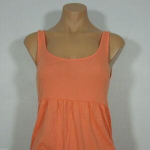 ANNE KLEIN SPORT  Active Sleeveless Orange Top, size M