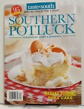 Taste of South Southern Potluck Banana Pudding Poke Cake 2017 FREE SHIPPING jb