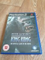 Playstation Games PS2 Peter Jackson's King Kong Official Game Complete FREE P&P