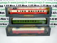 Lot 1AM 1+2+3 3 TRAINS Automotrices SNCF 1/87 HO z 7100  état 2° série 1915