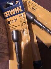 "Irwin 3548521C 3/8"" x 2-9/16"" Magnetic Nutsetter 1/4"" Shank"