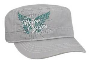 Harley-Davidson Women's Pure Freedom Adjustable Back Painters Cap - PC33554