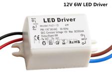 6W Watt High Power LED Driver Constant Current AC170V-260V 50-60Hz 500mA DC 12V