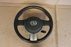 2013-2014 SCION FR-S Subaru BRZ OEM Steering wheel Assembly / SRS / Red Stitched