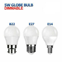 5W E14 LED Ampoules de Golf Dimmable SES ES BC BS Lampe Globe Blanc Chaud /Froid