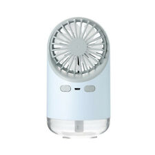 Portable Fan Humidifier Moisture Cooling Mobile USB LED Night Light Humidifying