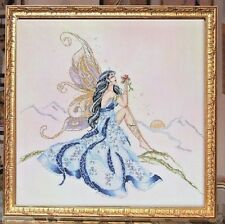 """SALE! COMPLETE X STITCH KIT """"THE MORNING FAE RL36"""" by Passione Ricamo"""
