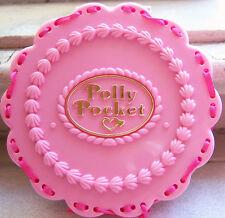 Vintage Polly Pocket Birthday Cake Suprise set Bluebird Toys w dolls acc's