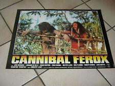 FOTOBUSTA CANNIBAL FEROX UMBERTO LENZI,DE SELLE 1981
