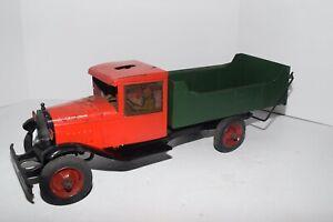 Rare Vintage BUDDY L ROBO-TOY Pressed Steel Truck  c. 1930's