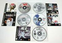 Lot of 5 Games Sony Playstation PS1 Baseball Hardball MLB VR Triple Play Bottom