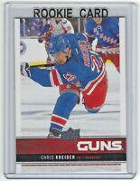 2012-13 Upper Deck Young Guns Chris Kreider #237 Rookie New York Rangers