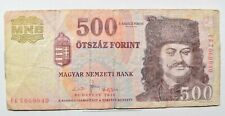 CrazieM World Bank Note - 2010 Hungary 500 Forint - Collection Lot m260