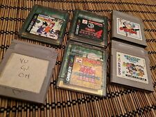 *JPN LOT of 6-TESTED* YU-GI-OH 1,3&4, ACKMAN, DRAGON Z +*USA SELLER! GAMEBOY Y1