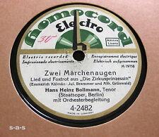 Nice Price: Hans Heinz Bollmann - Zwei Märchenaugen / Ninon HOMOCORD (1029)