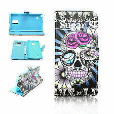 Stand Wallet PU Leather Pattern Cover Case For Samsung Galaxy Note 4 IV N9100