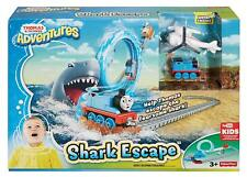 Thomas & Friends Tank Engine Shark Escape Track Toy Playset Fisher Price