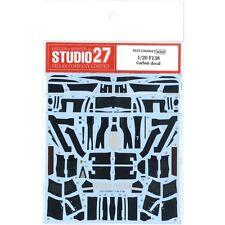 Studio27 CD20017 1:20 Ferrari F138 carbon decal 2013