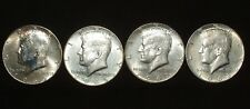 1965 to 1968 Kennedy Half Dollars - 4 Coins - Free USA Shipping - #651532