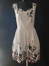 Joe Browns Prim and Prom Dress White Cotton Size 16 Nes