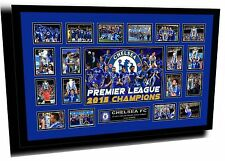 CHELSEA EPL 2014/15 WINNERS SIGNED LIMITED EDITION FRAMED MEMORABILIA