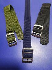 18mm - 20mm - 22mm Strap Correa Reloj Perlon Pulsera Watch band