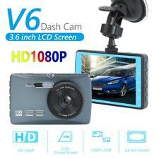V6 HD 1080P Loop Recording Dash Cam 3.6 inch TFT LCD Screen Car DVR Camera