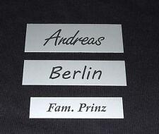 Klingelschild,Briefkastenschild,Türschild,Namensschild 3 Größen=1Preis,Aluminium