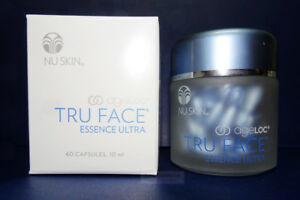 Nu Skin NuSkin ageLOC Tru Face Essence Ultra 60 Capsules Sealed (Bread New)