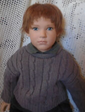 Sabine Esche Boy Doll for Sigikid - SAMMY - 1991 - 381/1500 Limited Large Dolls