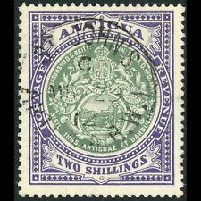 ANTIGUA 1908-17 2s Grey Green & Violet. SG 50. Fine Used. (AF186)